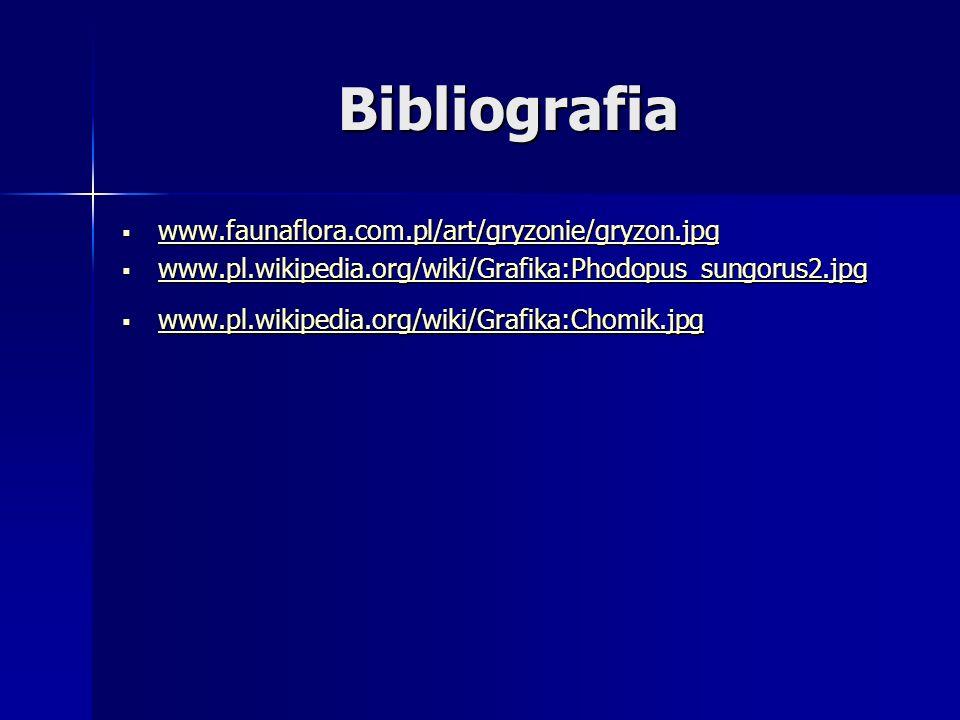 Bibliografia www.faunaflora.com.pl/art/gryzonie/gryzon.jpg www.faunaflora.com.pl/art/gryzonie/gryzon.jpg www.faunaflora.com.pl/art/gryzonie/gryzon.jpg