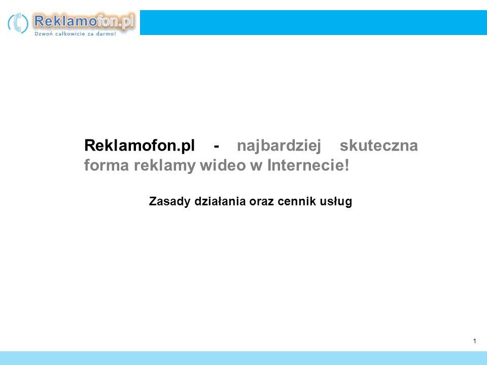 2 Reklamofon.pl to serwis Internetowy umożliwiający darmowe rozmowy telefoniczne bez potrzeby instalacji żadnego oprogramowania, czy kupowania dodatkowego sprzętu.
