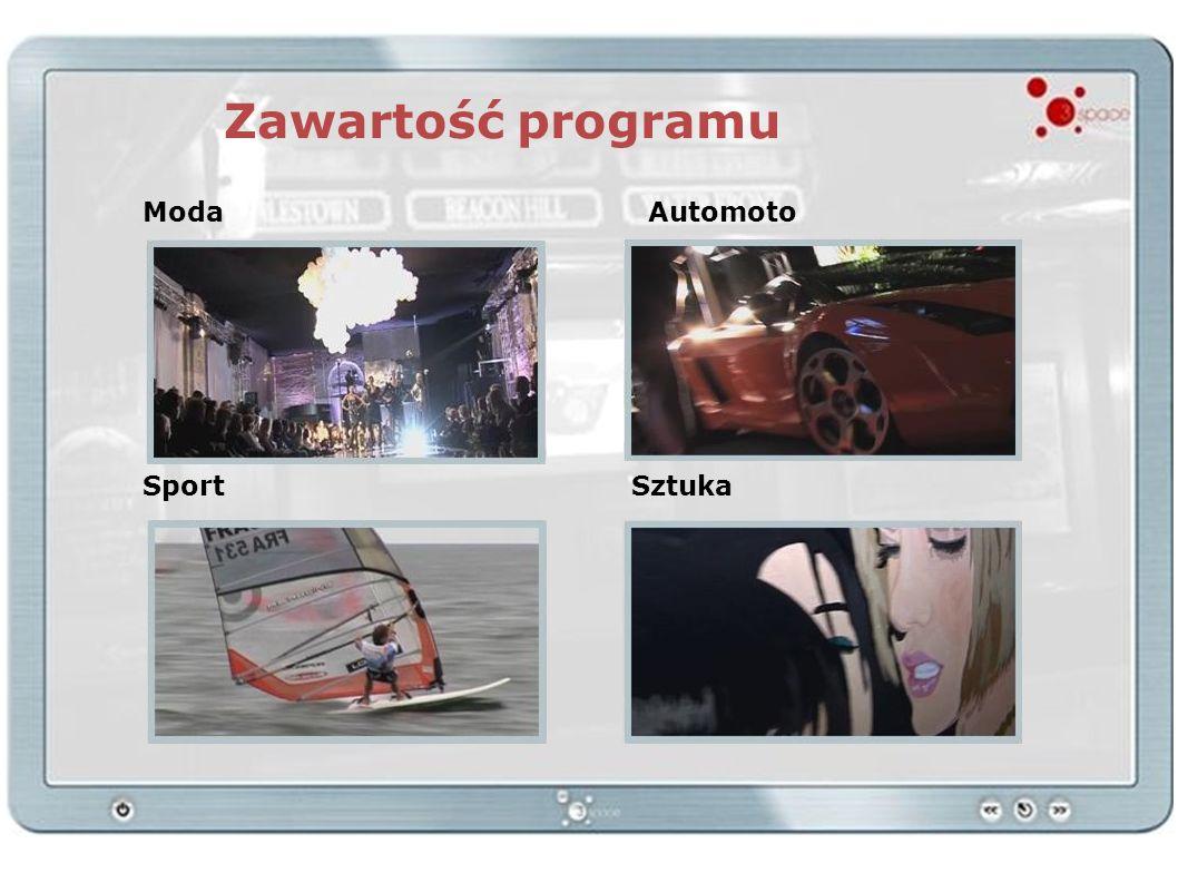 Zawartość programu ModaAutomoto SportSztuka