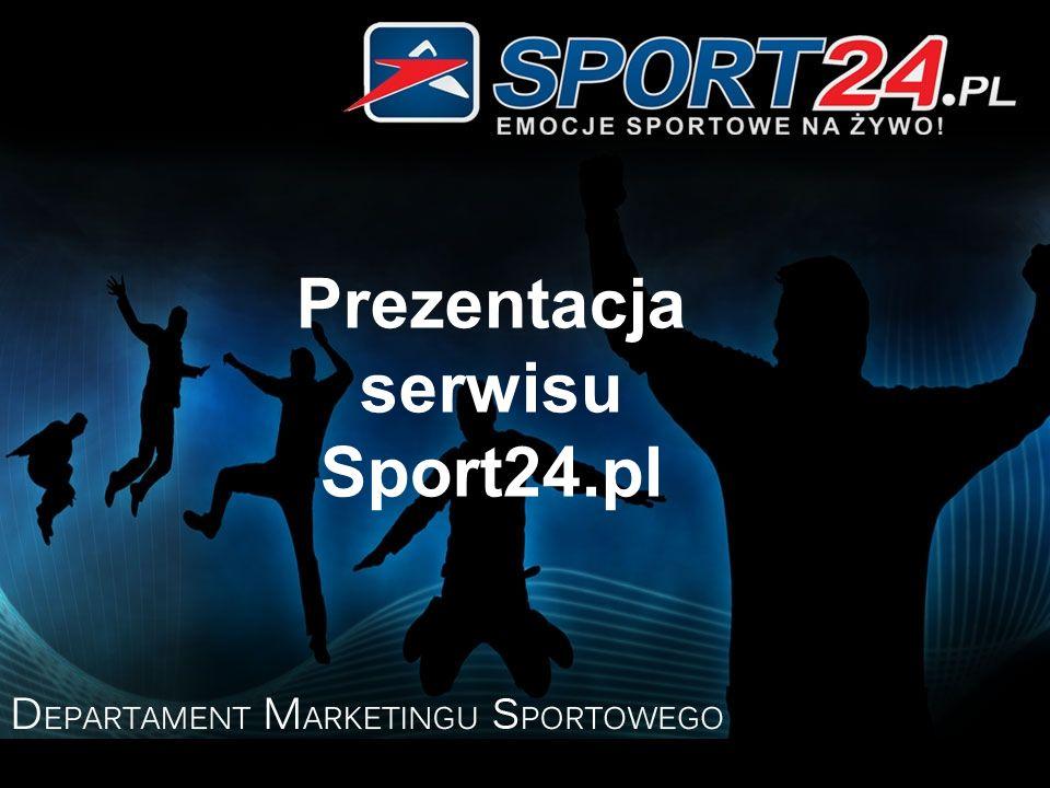 Prezentacja serwisu Sport24.pl