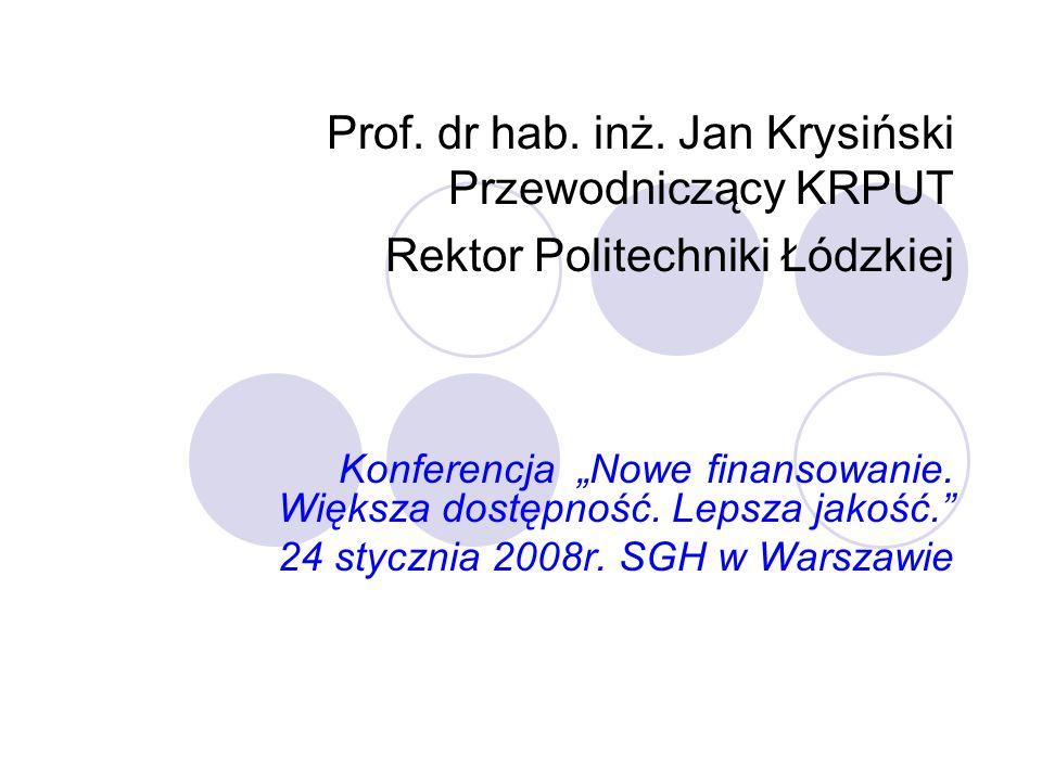 Problemy charakterystyczne dla wyższego szkolnictwa technicznego 1).