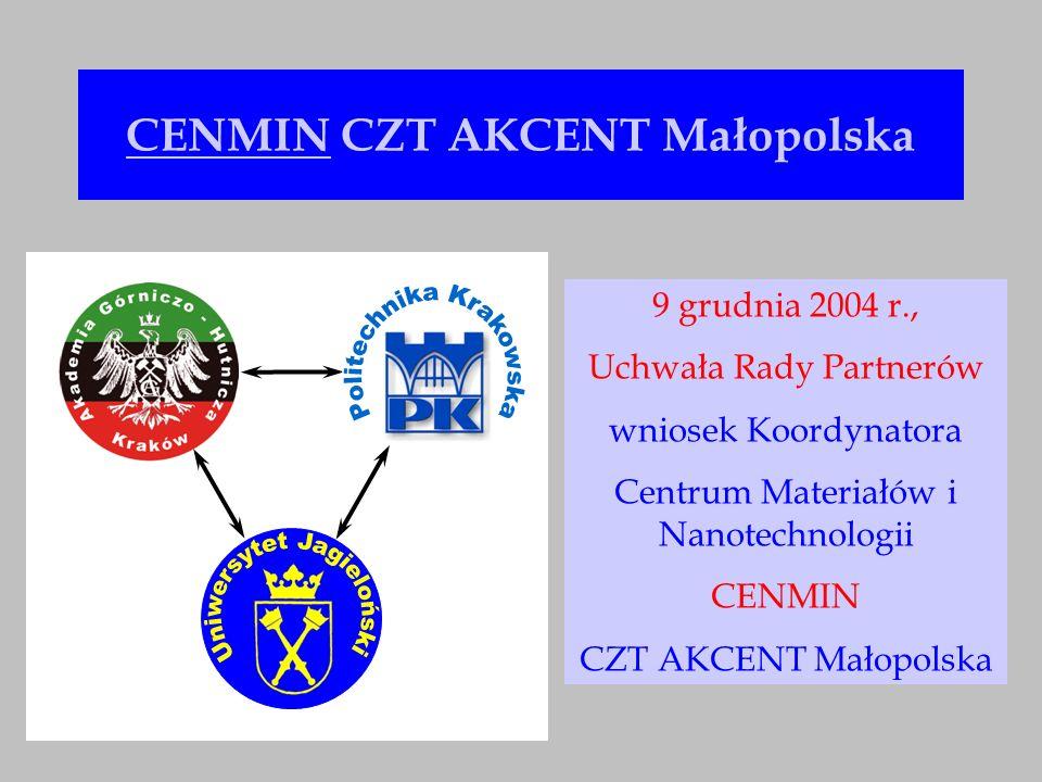 Obszar badawczy CENMIN