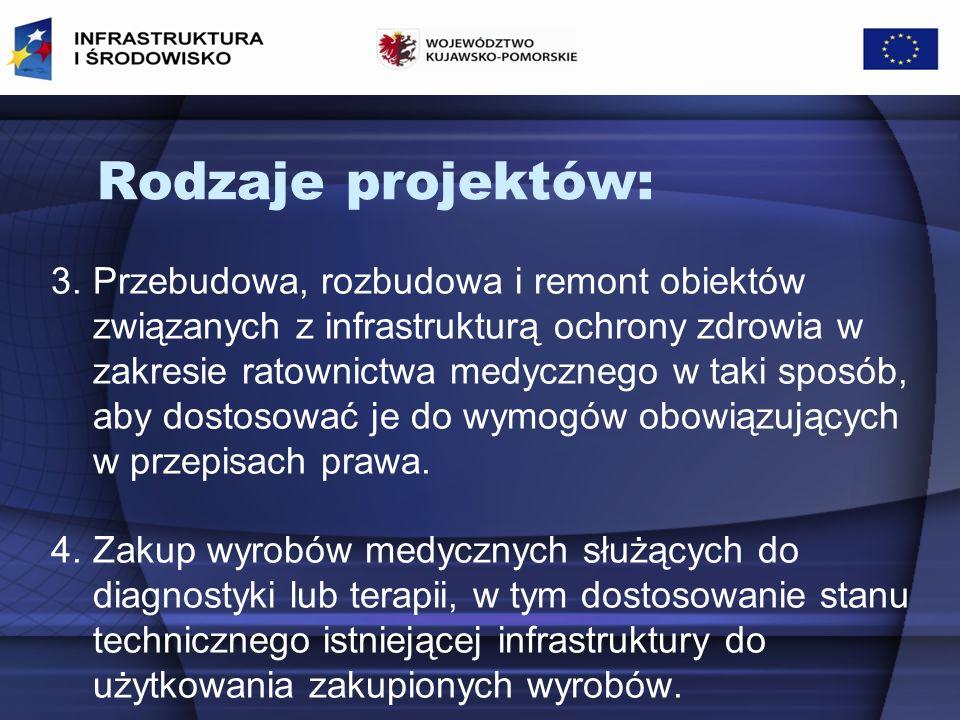 Kryteria formalne: 1.Ujęcie zespołu ratownictwa medycznego w Wojewódzkim Planie Działania Systemu.