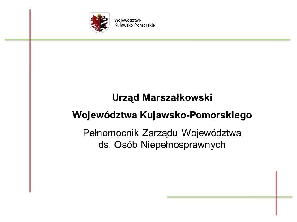 Zlecanie realizacji zadań w trybie ustawy o działalności pożytku publicznego i o wolontariacie – rozliczanie dotacji przyznanych w ramach otwartych konkursów ofert przez Samorząd Województwa Kujawsko-Pomorskiego ze środków budżetu Województwa oraz ze środków PFRON.