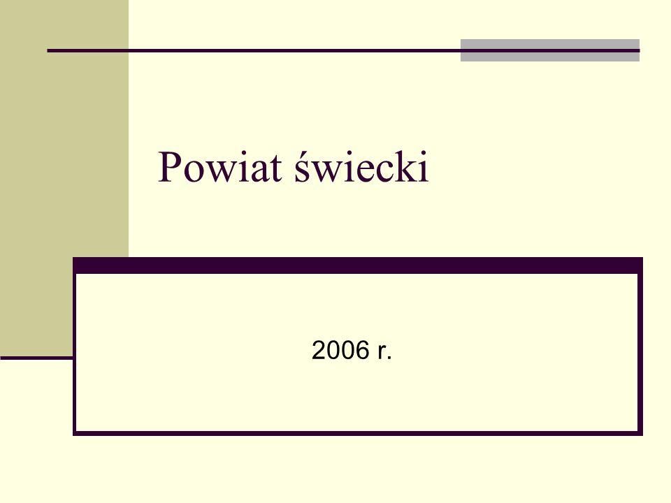 Powiat świecki 2006 r.