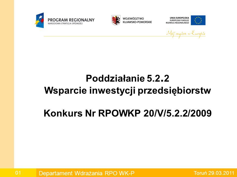 Projekty wskazane do dofinansowania 20.Wnioskodawca Boliński Marek Józef P.P.H.U.