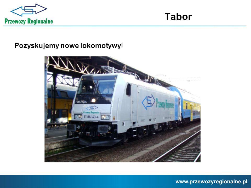 Tabor Pozyskujemy nowe lokomotywy!