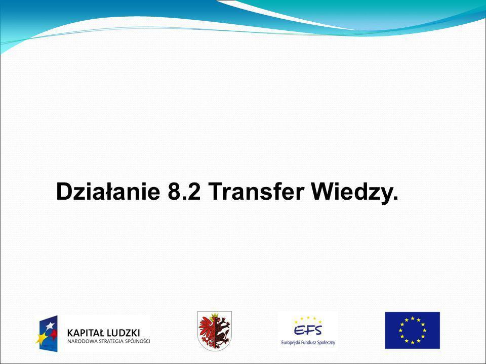 Działanie 8.2 Transfer Wiedzy.