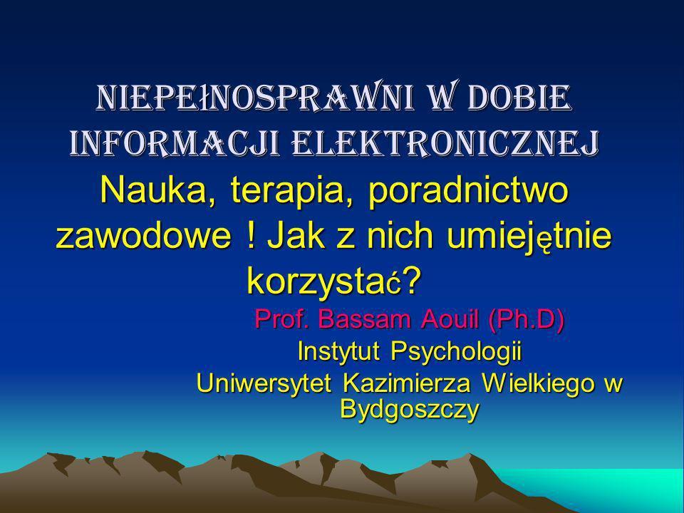 Dziękuję za uwagę i zapraszam do współpracy ! Bassam Aouil acpp@ukw.edu.pl