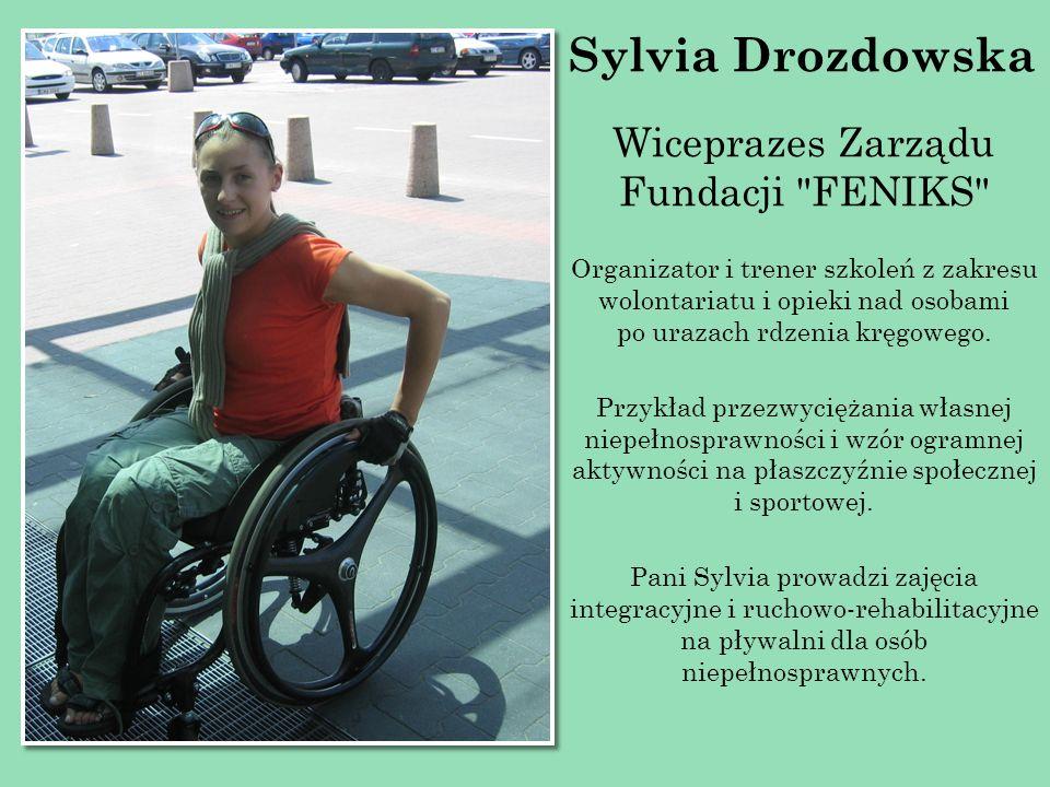 Sylvia Drozdowska Wiceprazes Zarządu Fundacji