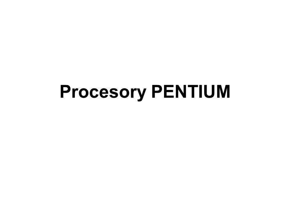 Pentium Pro optymalizacja pod kątem obsługi oprogramowania 32-bitowego oraz pracy w systemach wieloprocesorowych (serwery).