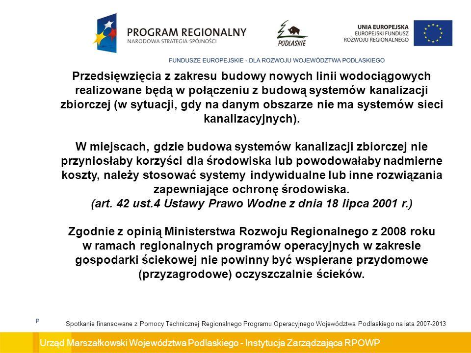 Urząd Marszałkowski Województwa Podlaskiego - Instytucja Zarządzająca RPOWP Spotkanie finansowane z Pomocy Technicznej Regionalnego Programu Operacyjnego Województwa Podlaskiego na lata 2007-2013 Celem konkursu jest wybranie do dofinansowania projektów, które w największym stopniu przyczynią się do osiągnięcia celów Regionalnego Programu Operacyjnego Województwa Podlaskiego na lata 2007-2013 oraz celów Osi Priorytetowej V.