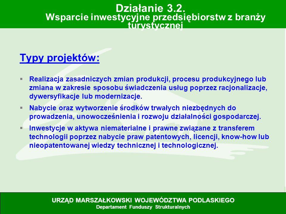 28.06.07 Typy projektów: Realizacja zasadniczych zmian produkcji, procesu produkcyjnego lub zmiana w zakresie sposobu świadczenia usług poprzez racjon