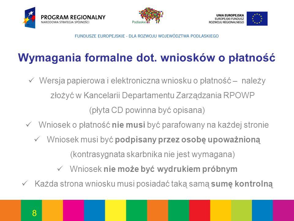 59 Projekt jest współfinansowany ze środków Europejskiego Funduszu Rozwoju Regionalnego oraz ze środków budżetu państwa/województwa 152/2010 Białystok, dnia 13.08.2010r.