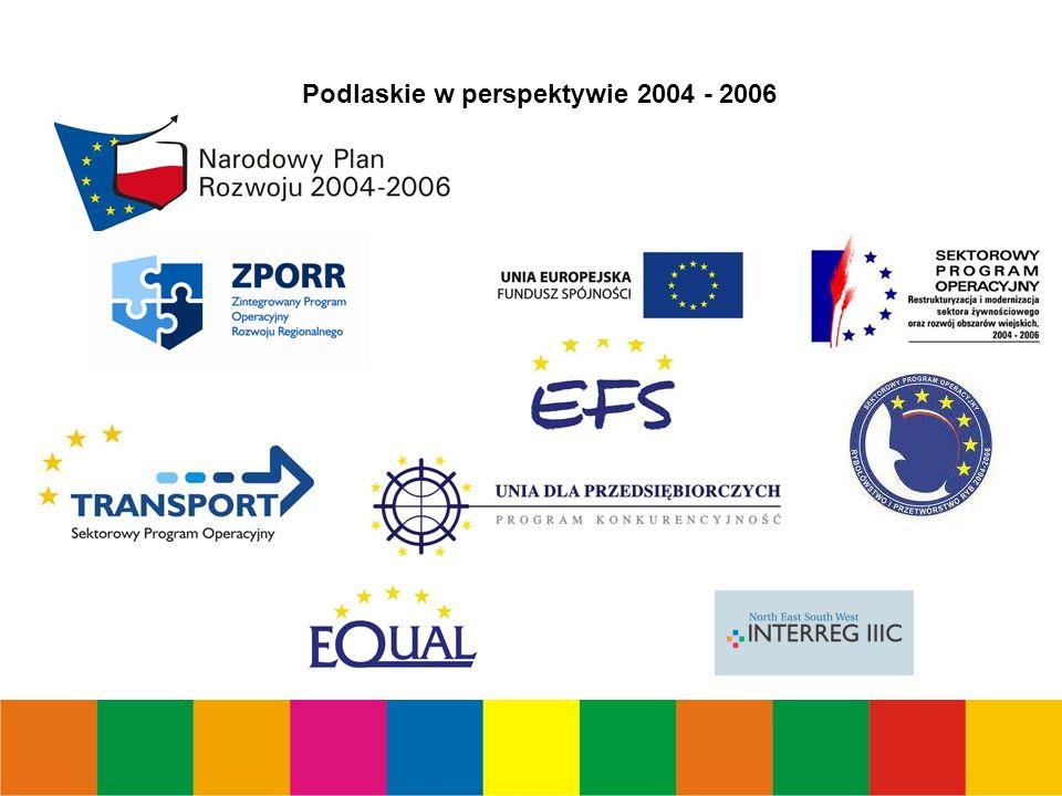 Podlaskie w perspektywie 2004 - 2006