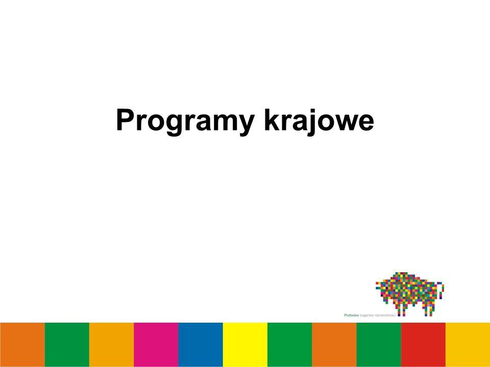 Programy krajowe
