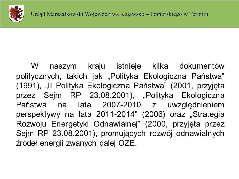 W naszym kraju istnieje kilka dokumentów politycznych, takich jak Polityka Ekologiczna Państwa (1991), II Polityka Ekologiczna Państwa (2001, przyjęta