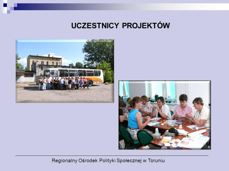 UCZESTNICY PROJEKTÓW Regionalny Ośrodek Polityki Społecznej w Toruniu