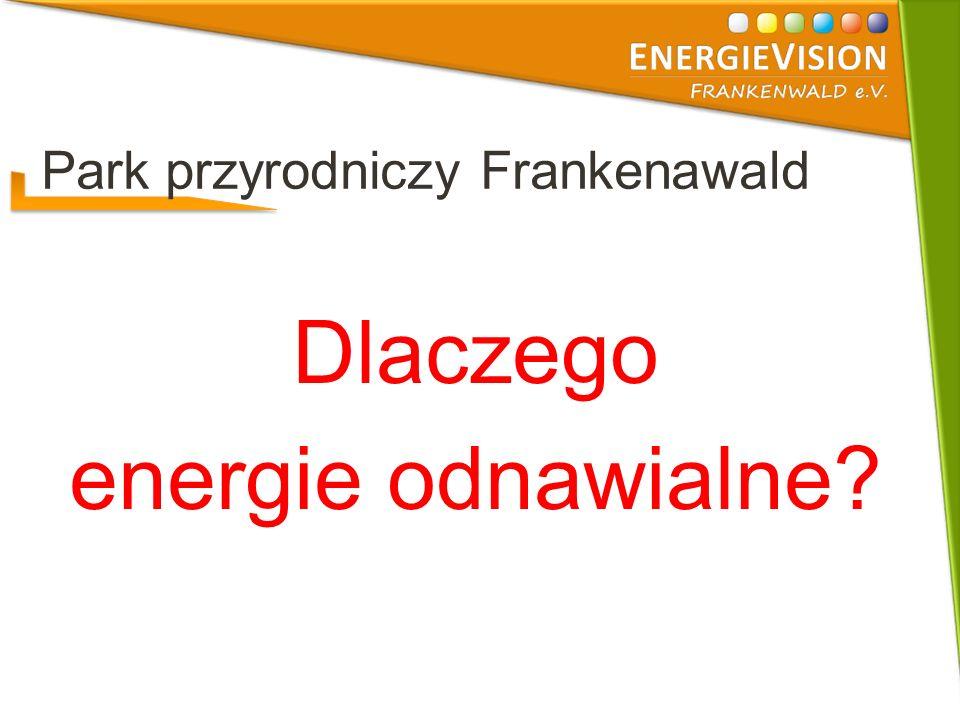 Park przyrodniczy Frankenawald Dlaczego energie odnawialne?