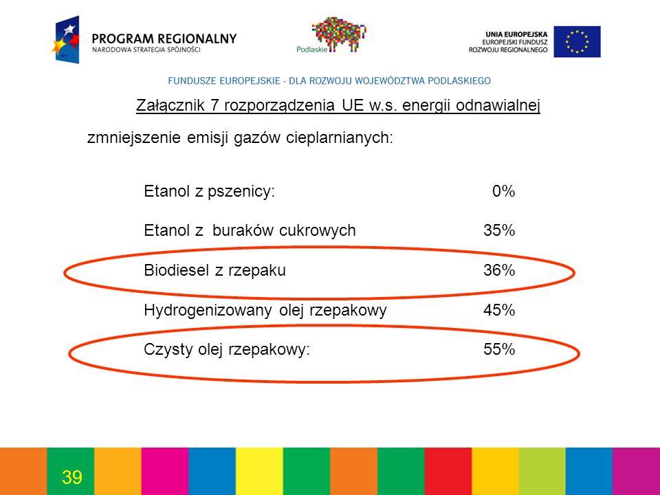 39 Załącznik 7 rozporządzenia UE w.s.
