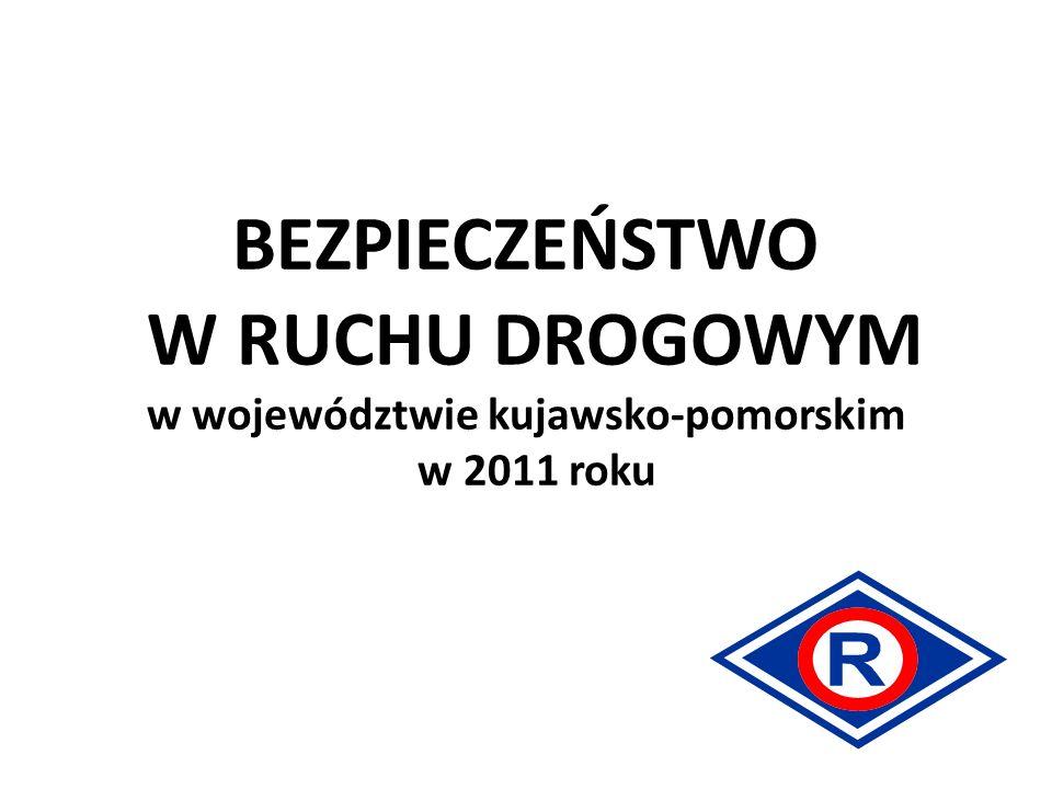 BEZPIECZEŃSTWO W RUCHU DROGOWYM w województwie kujawsko-pomorskim w 2011 roku