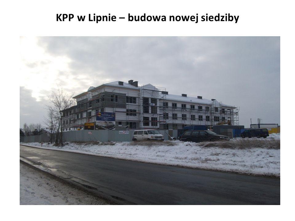 KPP w Lipnie – budowa nowej siedziby