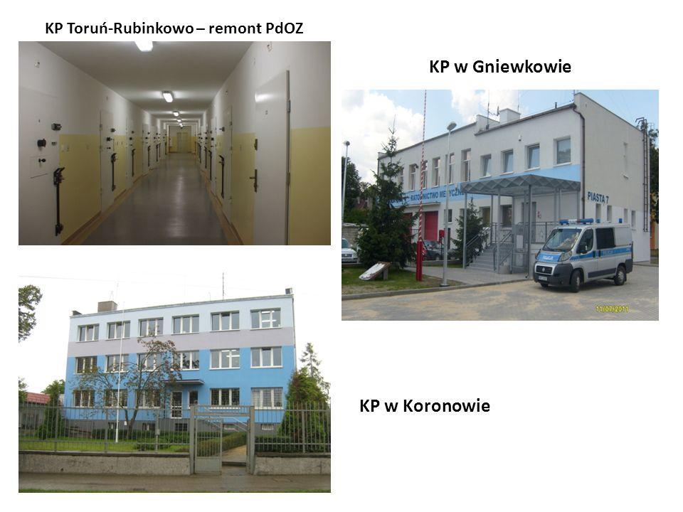 KP Toruń-Rubinkowo – remont PdOZ KP w Gniewkowie KP w Koronowie
