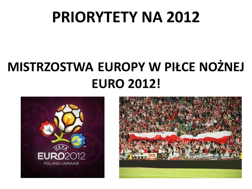 PRIORYTETY NA 2012 MISTRZOSTWA EUROPY W PIŁCE NOŻNEJ EURO 2012!