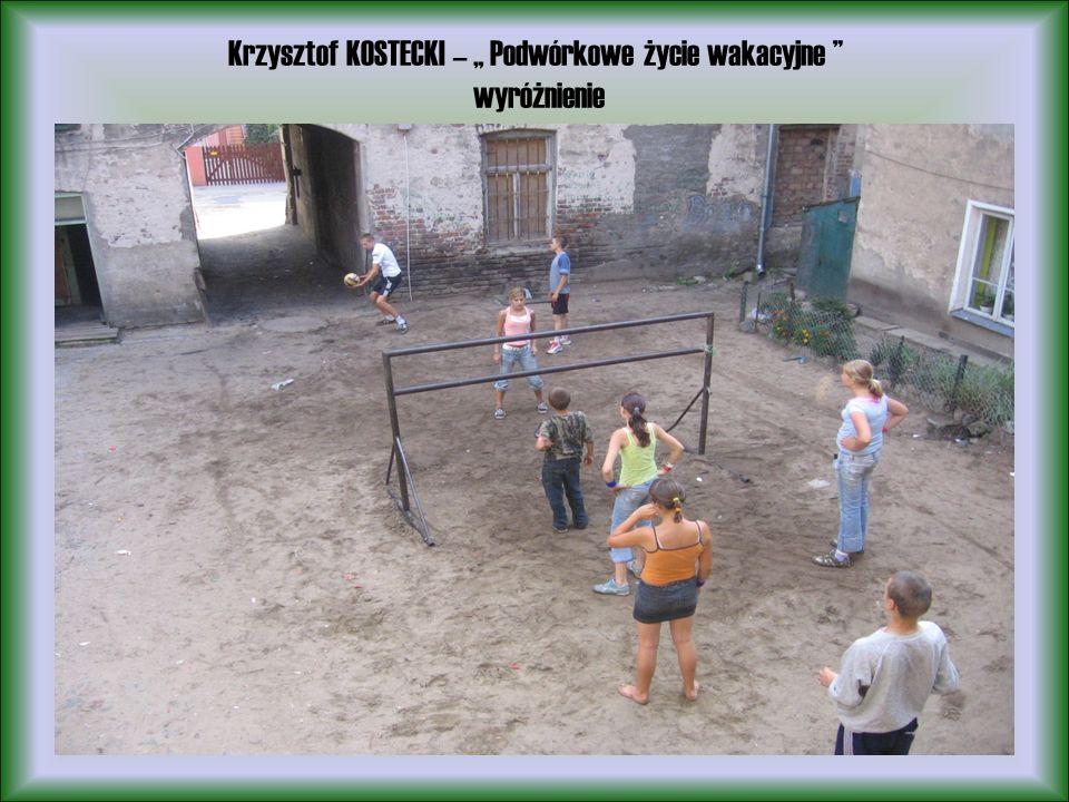 Krzysztof KOSTECKI – Podwórkowe życie wakacyjne wyróżnienie