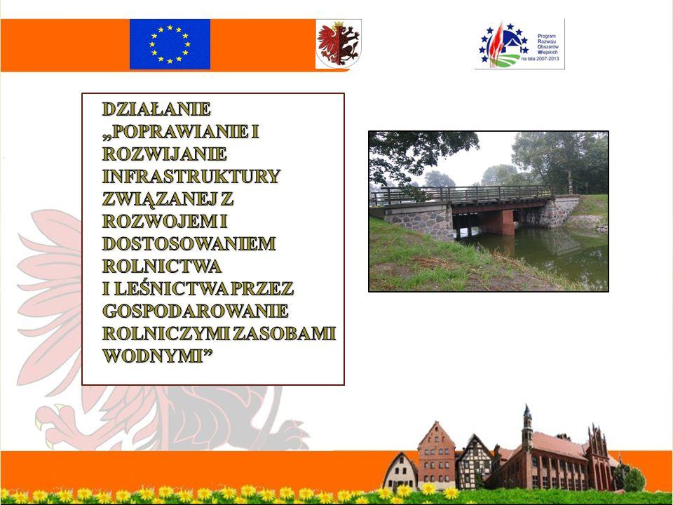 Inwestycje realizowane w ramach działania Odnowa i rozwój wsi przez Oś 4 Leader