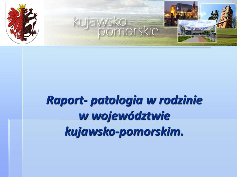 Raport- patologia w rodzinie w województwie kujawsko-pomorskim.
