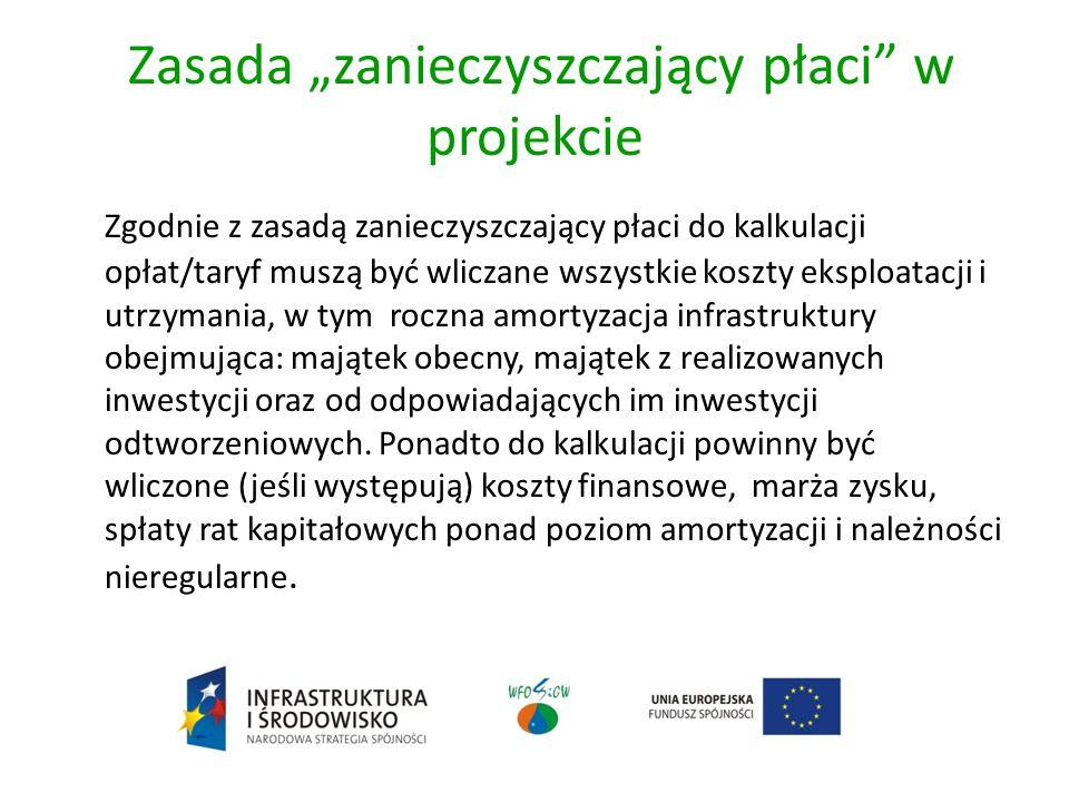Zasada zanieczyszczający płaci 1) Gospodarka wodno-ściekowa - Rozporządzenie Ministra Budownictwa z dnia 28 czerwca 2006 r.
