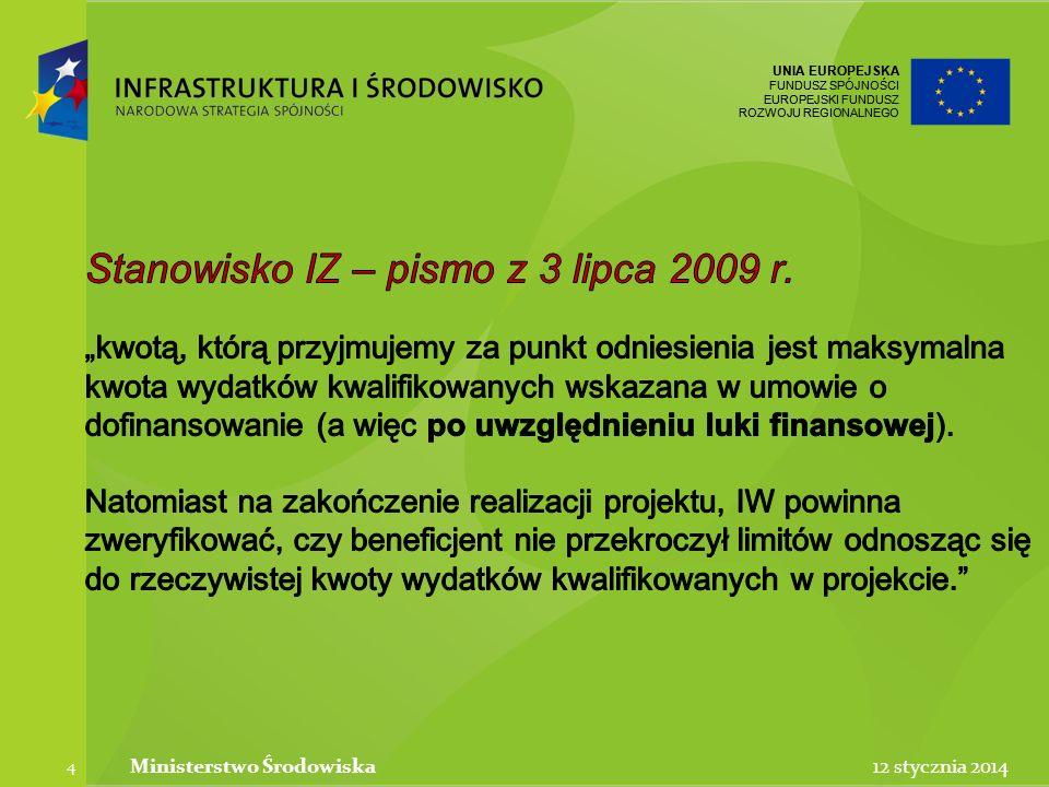UNIA EUROPEJSKA FUNDUSZ SPÓJNOŚCI EUROPEJSKI FUNDUSZ ROZWOJU REGIONALNEGO UNIA EUROPEJSKA FUNDUSZ SPÓJNOŚCI EUROPEJSKI FUNDUSZ ROZWOJU REGIONALNEGO 12