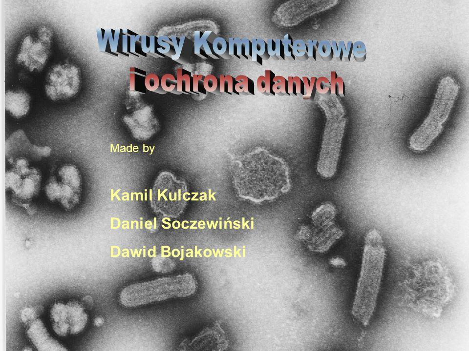 Made by Kamil Kulczak Daniel Soczewiński Dawid Bojakowski