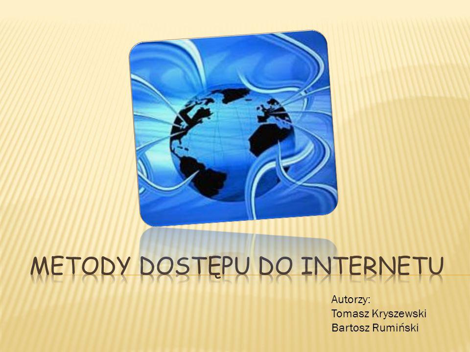 Autorzy: Tomasz Kryszewski Bartosz Rumiński