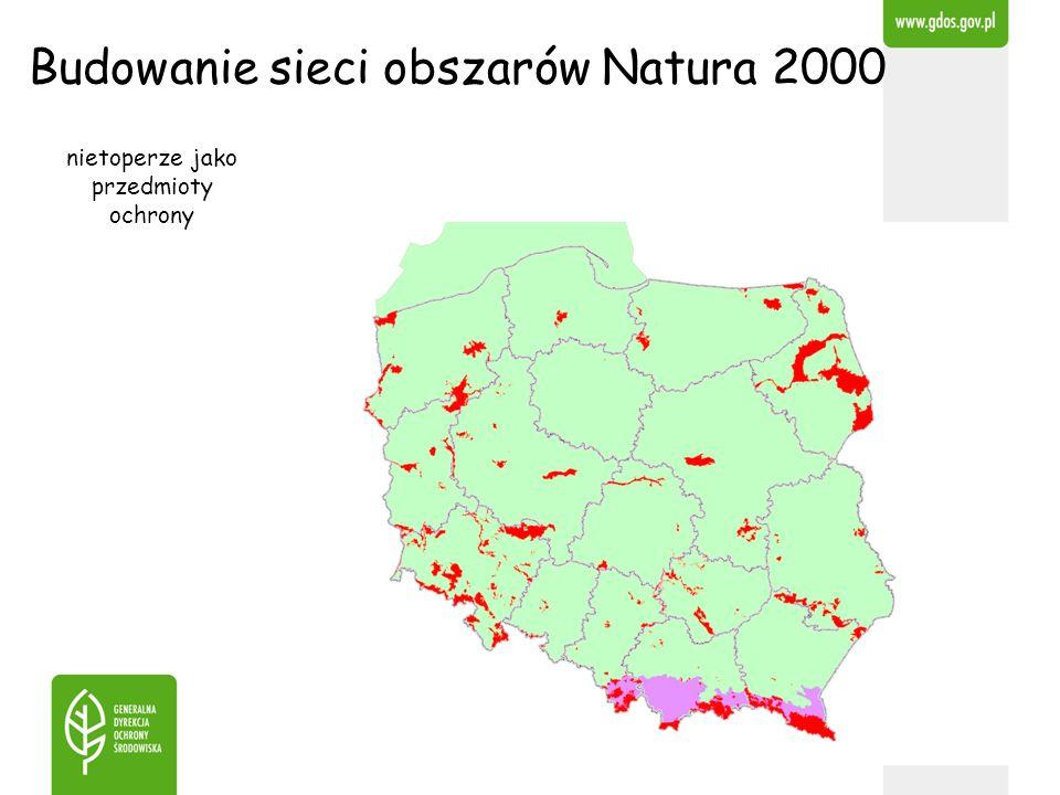 Budowanie sieci obszarów Natura 2000 nietoperze jako przedmioty ochrony