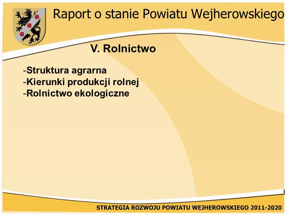 Raport o stanie Powiatu Wejherowskiego V.