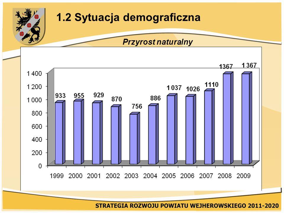 2.1 Sytuacja na rynku pracy Najtrudniejszymi problemami rynku pracy powiatu, wynikającymi głównie ze strukturalnego charakteru bezrobocia są: duże zróżnicowanie terytorialne natężenia bezrobocia sięgające prawie 10%, wysoki odsetek kobiet w ogółem bezrobotnych (ponad 61% na dzień 31.06.2009 r.), wysokie bezrobocie młodzieży (25%), niski poziom wykształcenia znacznej liczby bezrobotnych, duży udział mieszkańców wsi (jawne i ukryte bezrobocie na wsi).