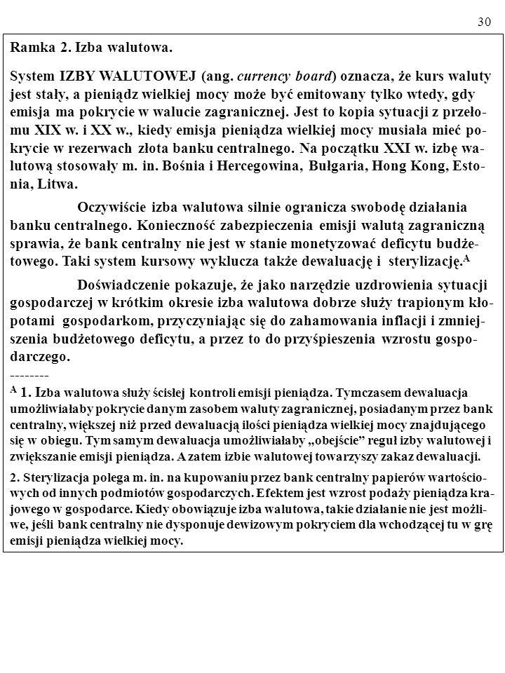 29 KRYZYS W ARGENTYNIE W 2001 r., po dziesięciu latach stosowania systemu izby walutowej (ang.