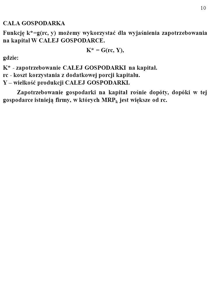 9 A zatem, MP kP = (i n -π e +d)...