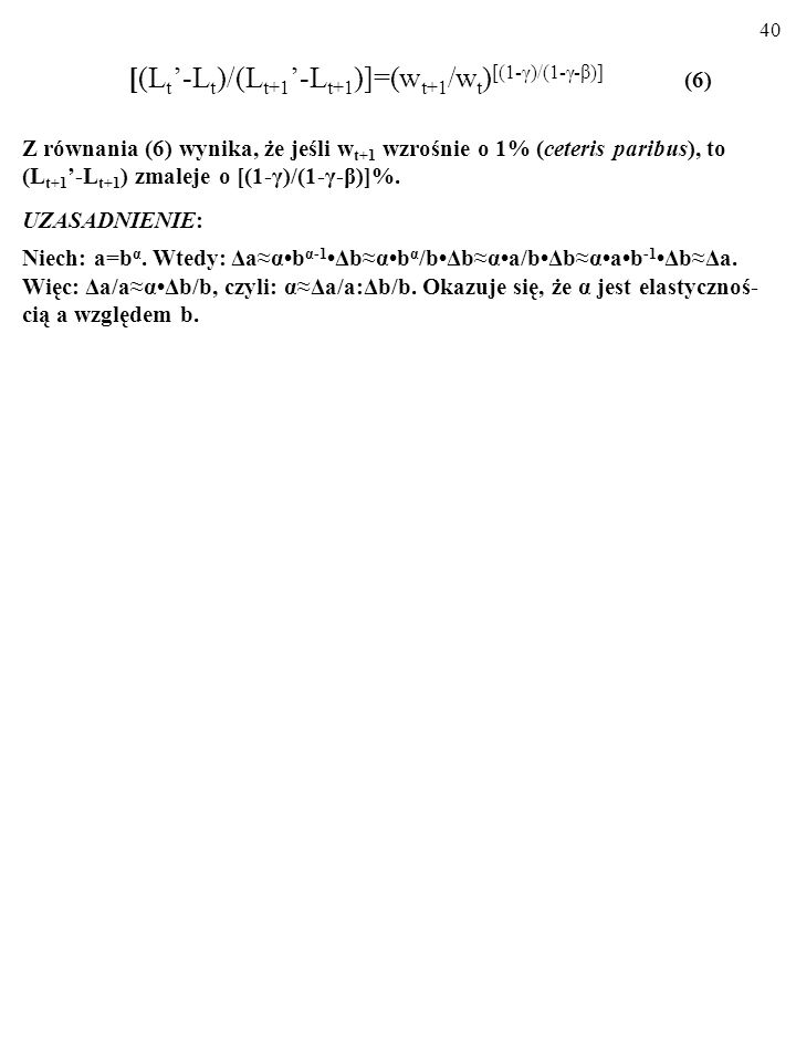39 Y t =a tL t, (1) U[C t, (L t -L t )]=C t y (L t -L t ) β, (2) MU L =βC t y(L t -L t ) β-1 =βU t /(L t -L t ). (3) C t +C t+1 +...=w tL t +w t+1L t+