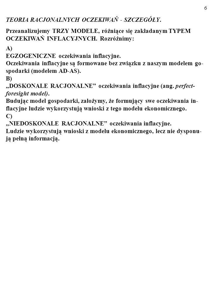 36 PRZYKŁAD PROSTEGO MODELU RBC (ang.