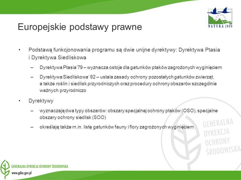 www.gdos.gov.pl Podstawą funkcjonowania programu są dwie unijne dyrektywy: Dyrektywa Ptasia i Dyrektywa Siedliskowa –Dyrektywa Ptasia79 – wyznacza ost