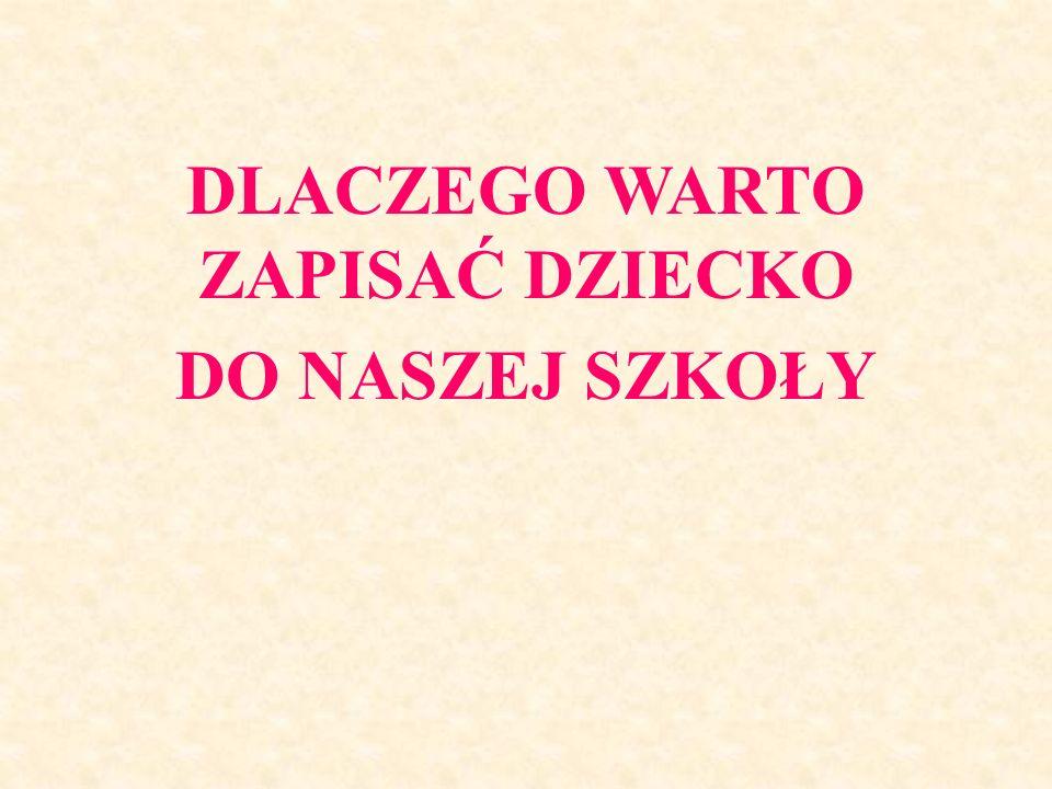 GIMNAZJUM NR 1 im. Stanisława Jachowicza w Tarnobrzegu