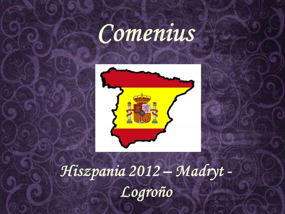 Comenius Hiszpania 2012 – Madryt - Logroño