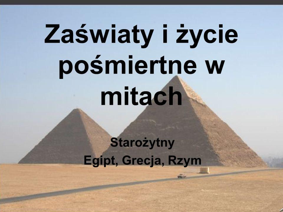Starożytny Egipt Ozyrys - (egip.