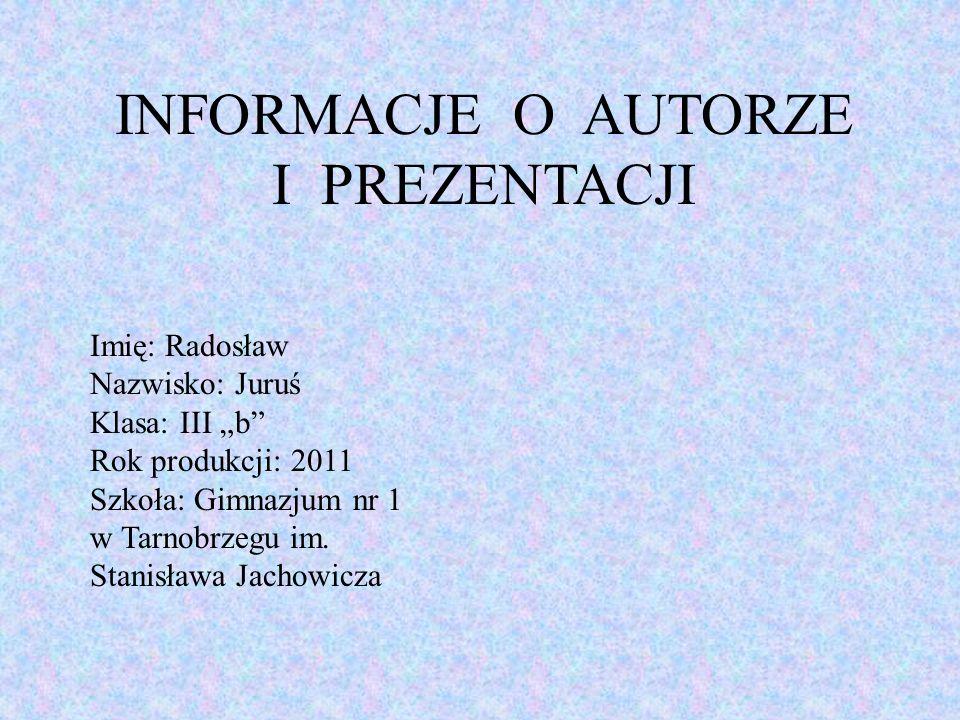 Do niedawna Tarnobrzeg był miastem górniczym, związanym z kopalnią siarki, dlatego jedną z ulic w naszym mieście nazwano ul.