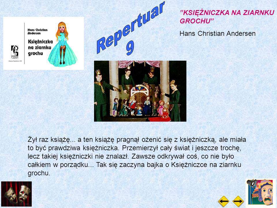 KSIĘŻNICZKA NA ZIARNKU GROCHU Hans Christian Andersen Żył raz książę...