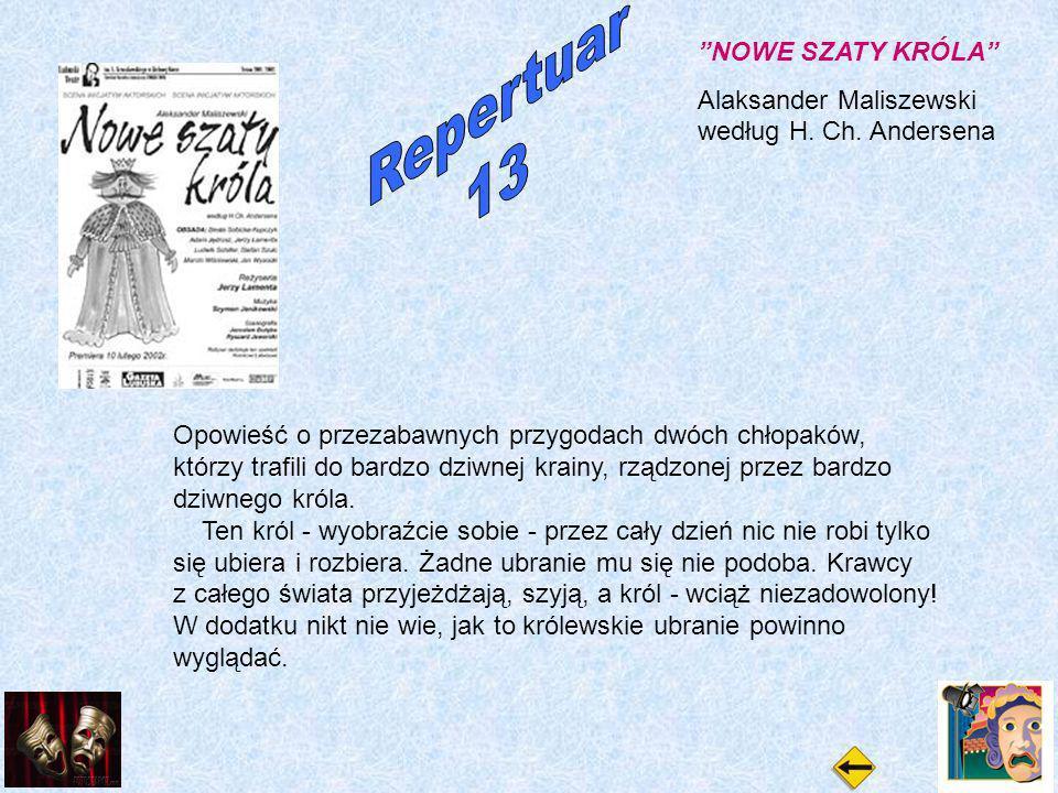 NOWE SZATY KRÓLA Alaksander Maliszewski według H. Ch.