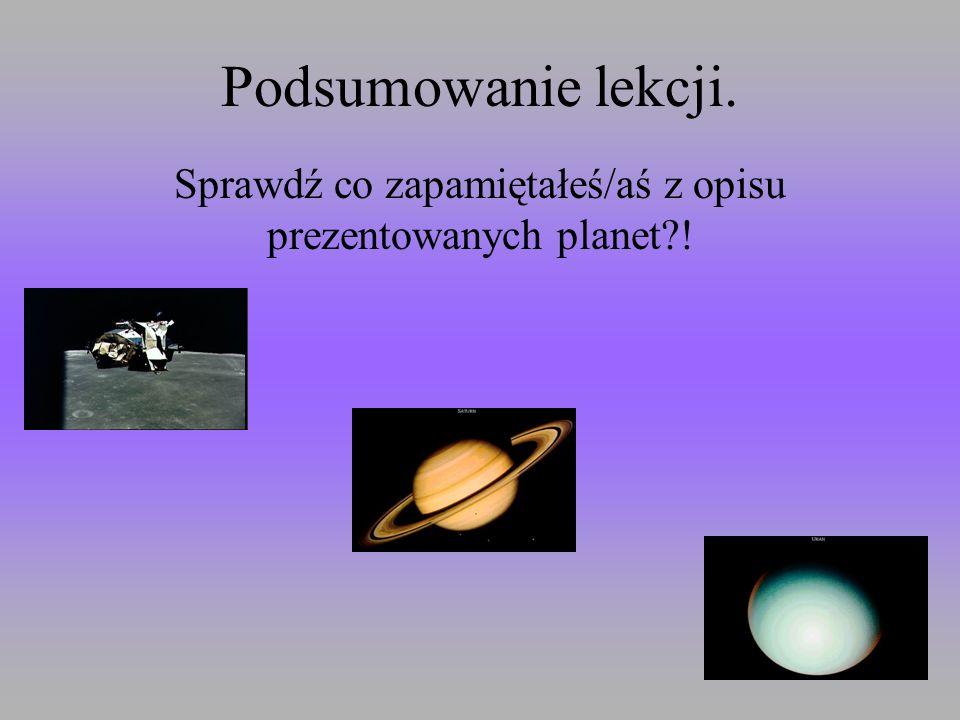 PLUTON Dziewiąta planeta Układu Słonecznego odkryta w 1930 roku. Jest on oddalony od Słońca średnio o 39,529 jednostek astronomicznych(5914 mln km), j